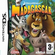 Madagascar Losse Game Card voor Nintendo DS