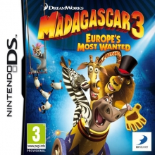 Madagascar 3: Europe's Most Wanted Losse Game Card voor Nintendo DS