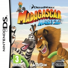 Madagascar: Kartz Losse Game Card voor Nintendo DS