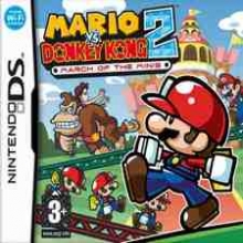 Mario Vs Donkey Kong 2 March of the Minis voor Nintendo DS