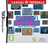 Match 3 Madness Losse Game Card voor Nintendo Wii