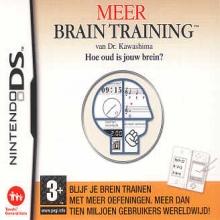 Meer Brain Training van Dr. Kawashima: Hoe oud is jouw brein? Losse Game Card voor Nintendo DS