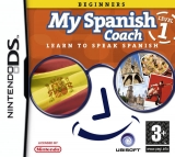 My Spanish Coach Level 1: Beginners Losse Game Card voor Nintendo DS