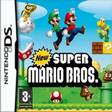 /New Super Mario Bros. Losse Game Card Lelijk Eendje voor Nintendo DS