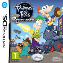 Phineas and Ferb: Across the 2nd Dimension Losse Game Card voor Nintendo DS
