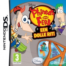 Phineas and Ferb: Een Dolle Rit Losse Game Card voor Nintendo DS