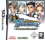 Phoenix Wright Ace Attorney Justice for All voor Nintendo DS