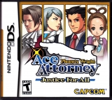 Phoenix Wright Ace Attorney: Justice for All (NA) voor Nintendo DS
