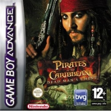 Pirates of the Caribbean Dead Mans Chest GBA voor Nintendo DS
