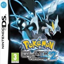 Pokémon Black Version 2 Losse Game Card voor Nintendo DS