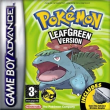 Box Pokémon LeafGreen Version