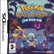 Pokémon Mystery Dungeon: Blue Rescue Team Losse Game Card Lelijk Eendje voor Nintendo DS
