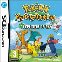 Pokémon Mystery Dungeon: Explorers of Sky voor Nintendo DS