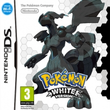 Pokémon White Version Losse Game Card voor Nintendo Wii