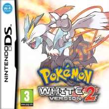 Pokémon White Version 2 Losse Game Card Lelijk Eendje voor Nintendo DS