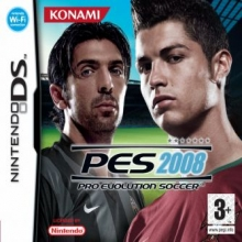 Pro Evolution Soccer 2008 Losse Game Card voor Nintendo DS