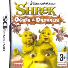 Shrek Ogres and Dronkeys voor Nintendo DS