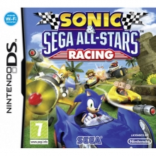 Sonic and Sega All-Stars Racing voor Nintendo DS