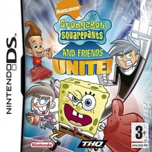 SpongeBob SquarePants en zijn Vrienden: Samen Staan ze Sterk voor Nintendo DS