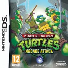 Teenage Mutant Ninja Turtles Arcade Attack voor Nintendo DS