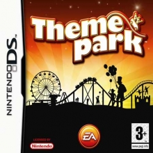 Theme Park Losse Game Card voor Nintendo DS