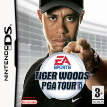 Tiger Woods PGA Tour Losse Game Card voor Nintendo DS