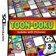Toon-Doku: Sudoku with Pictures! Losse Game Card voor Nintendo DS
