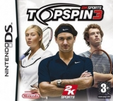 Top Spin 3 Losse Game Card voor Nintendo DS