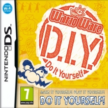Wario Ware: Do It Yourself Losse Game Card voor Nintendo DS