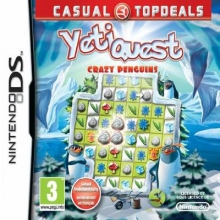 Yeti Quest Crazy Penguins voor Nintendo DS