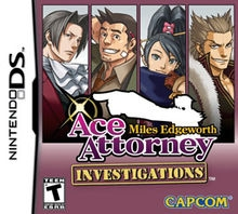 Boxshot Ace Attorney: Investigations