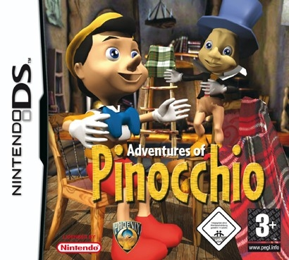 Boxshot Adventures of Pinocchio