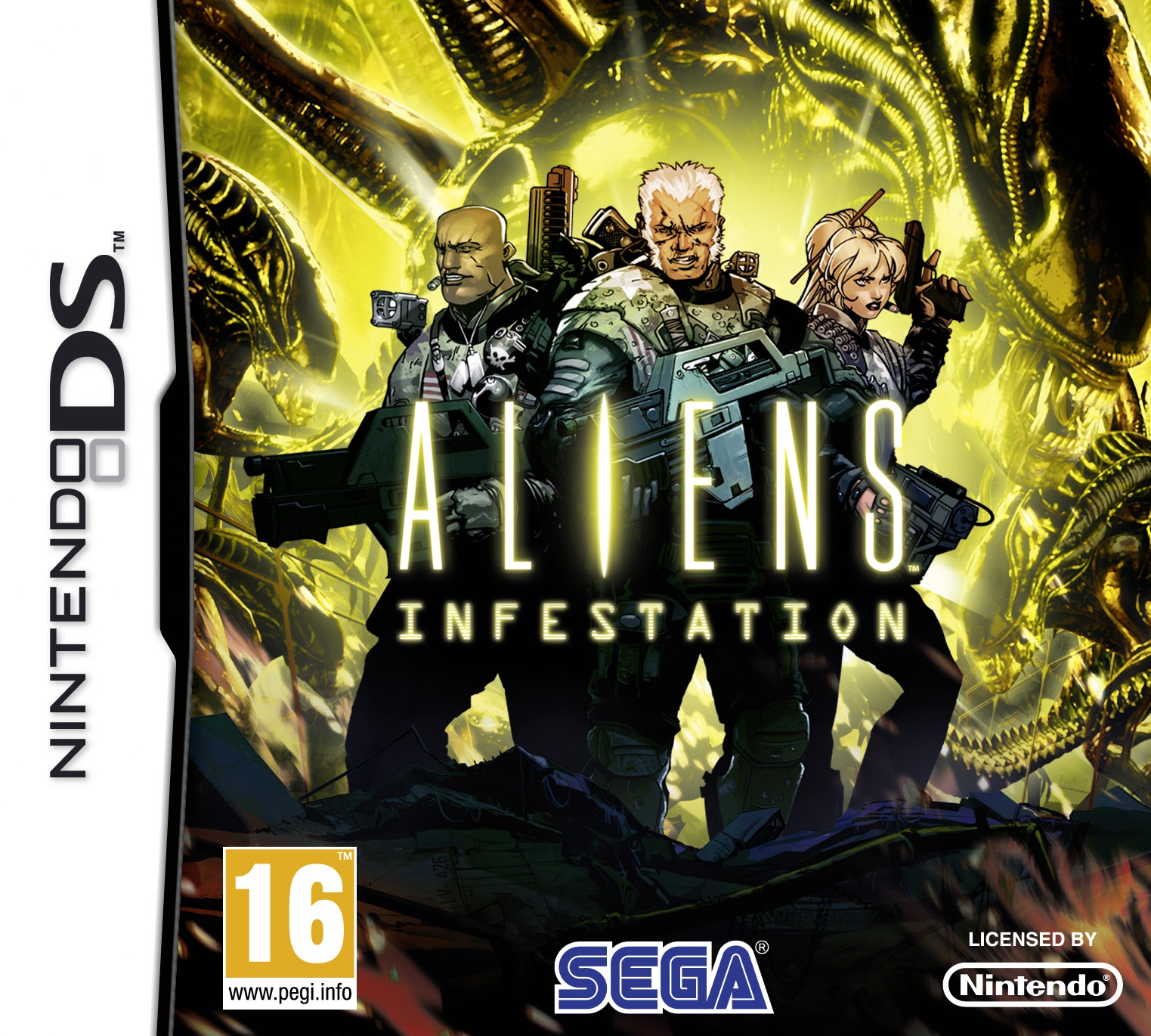 Boxshot Aliens: Infestation