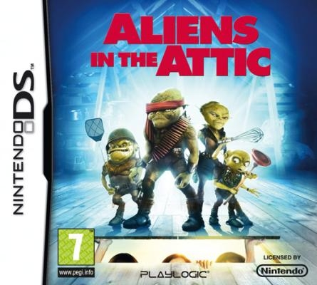 Boxshot Aliens in the Attic
