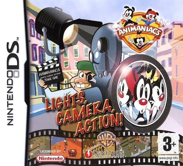 Boxshot Animaniacs: Lights, Camera, Action!