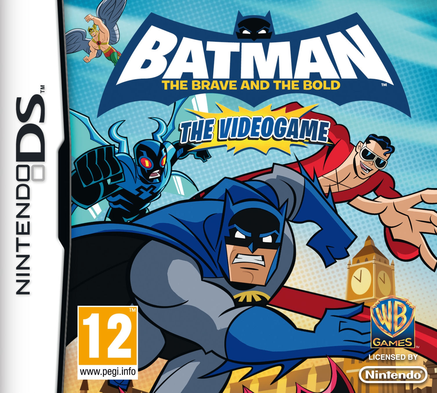 Boxshot Batman: The Brave and the Bold the Videogame