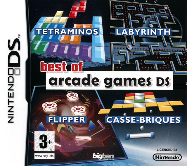 Boxshot Best of Arcade Games DS