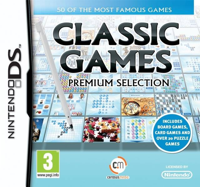 Boxshot Classic Games Premium Selection