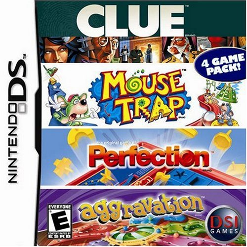 Boxshot Clue/Mouse Trap/Perfection/Aggravation