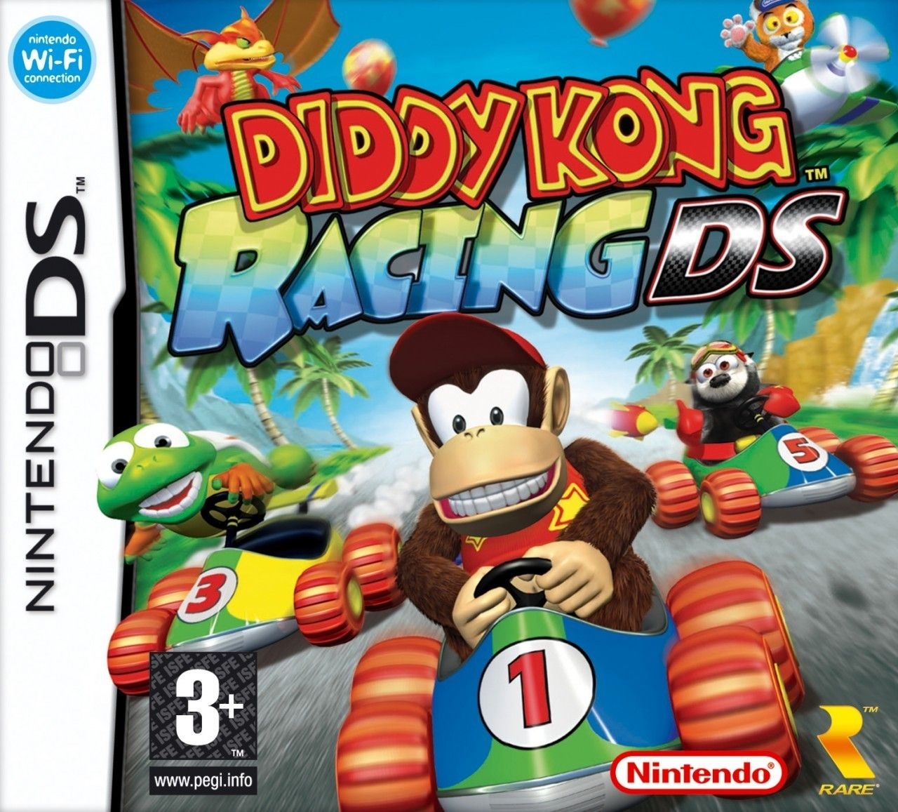 Boxshot Diddy Kong Racing DS