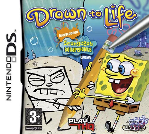 Boxshot Drawn to Life: Spongebob SquarePants