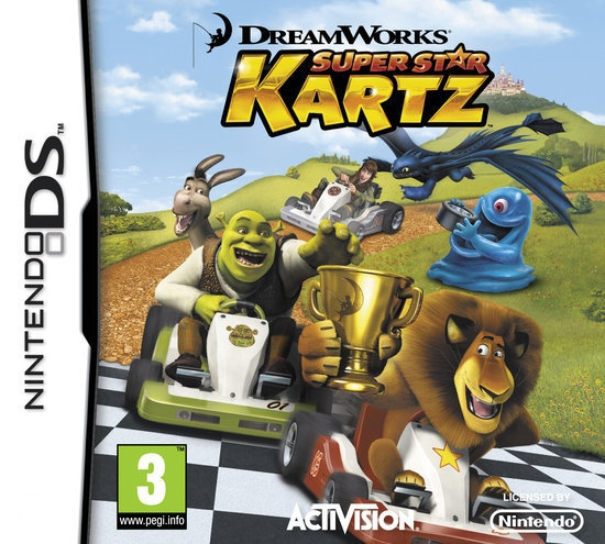 Boxshot DreamWorks Super Star Kartz