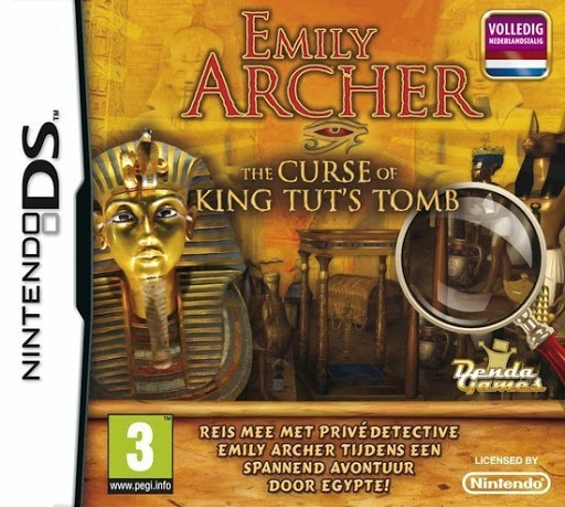 Boxshot Emily Archer: The Curse of King Tut's Tomb