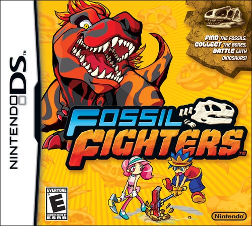 Boxshot Fossil Fighters