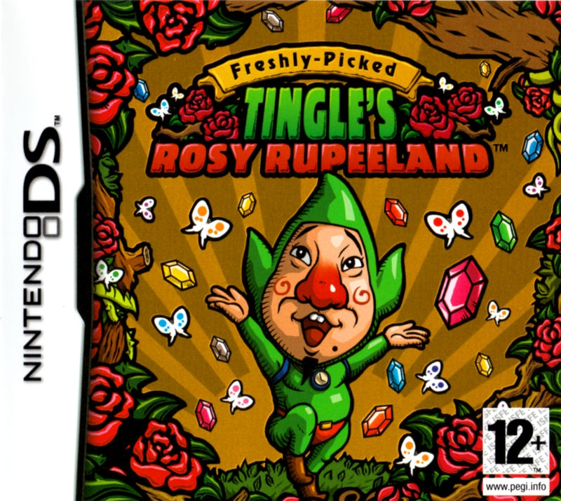 Boxshot Freshly Picked Tingle's Rosy Rupeeland