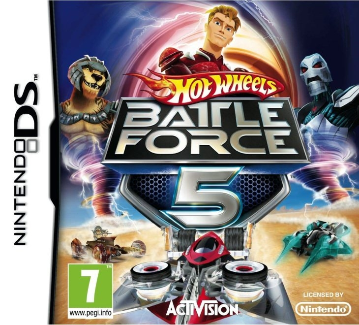 Boxshot Hot Wheels: Battle Force 5