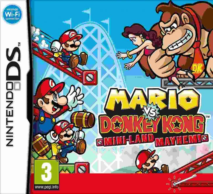 Boxshot Mario Vs. Donkey Kong 3: Mini-Land Mayhem
