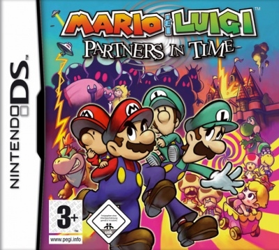 Boxshot Mario & Luigi: Partners in Time