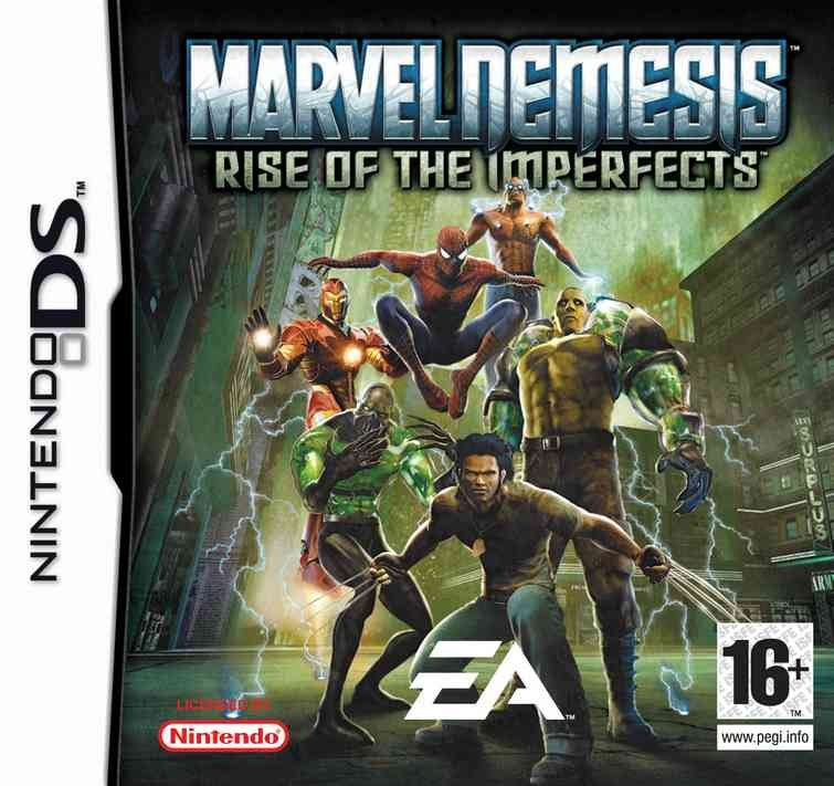 Boxshot Marvel Nemesis: Rise of the Imperfects