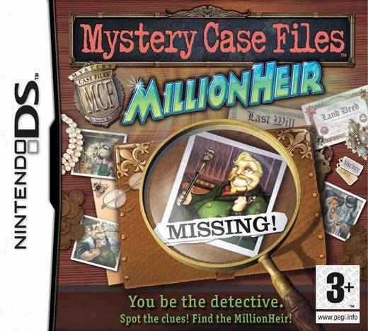 Boxshot Mystery Case Files: MillionHeir